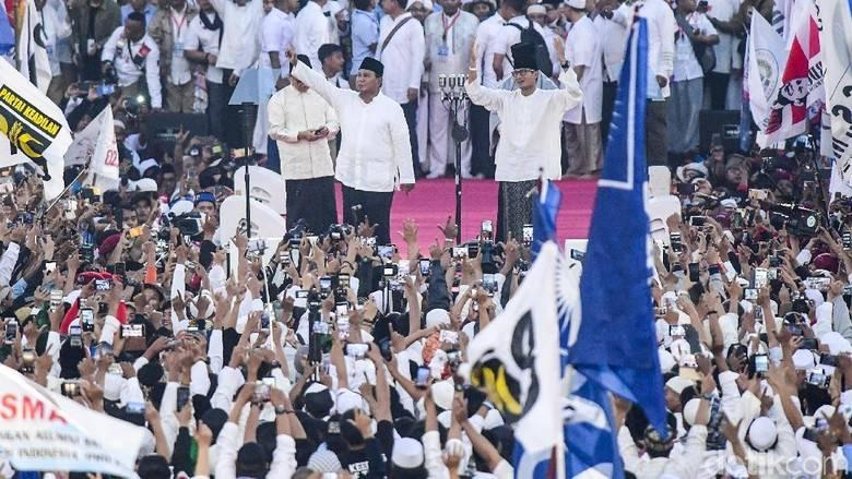 Kampanye Akbar di GBK, Bukti Prabowo Tak Layak Jadi Presiden NKRI