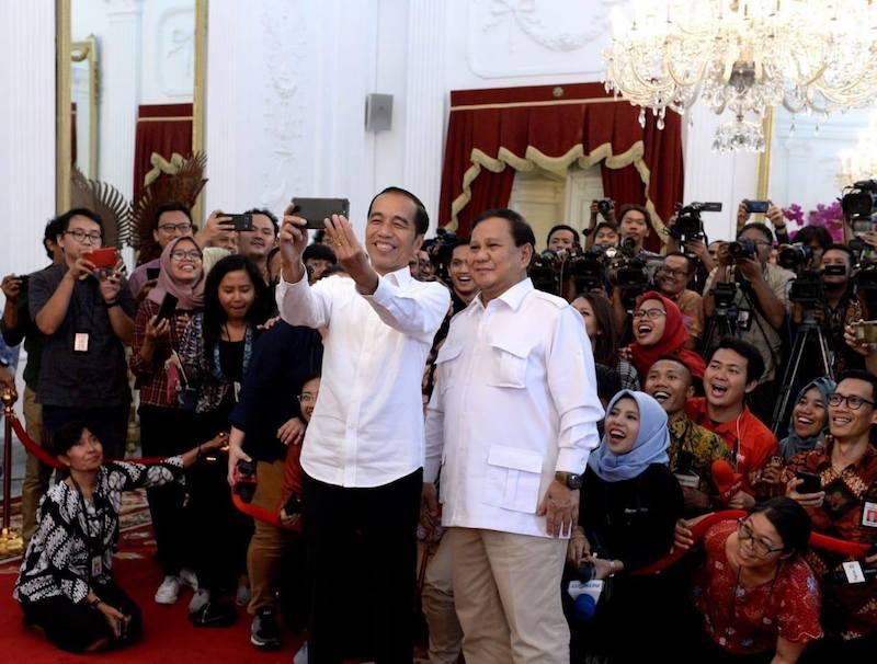 Bertemu Bapak Prabowo Subianto dan Bapak Susilo Bambang Yudhoyono