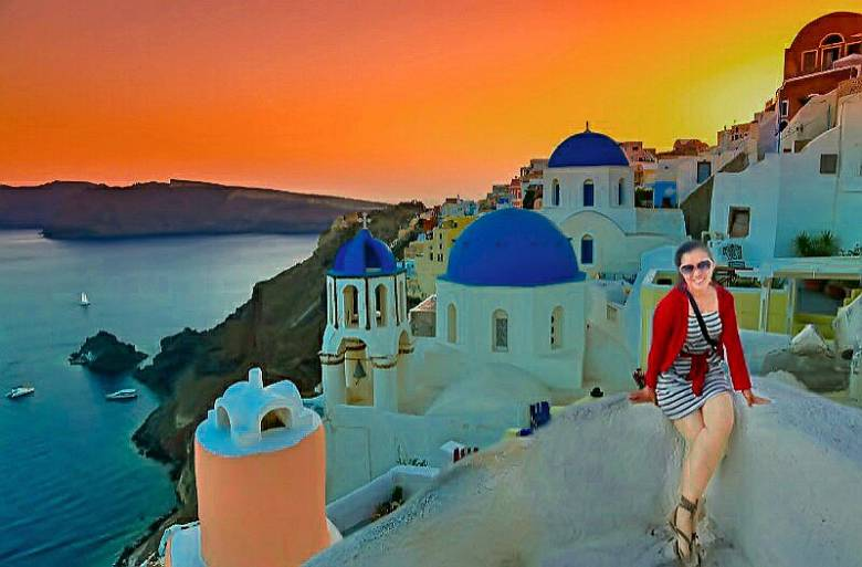 Santorini, all the colors in the World