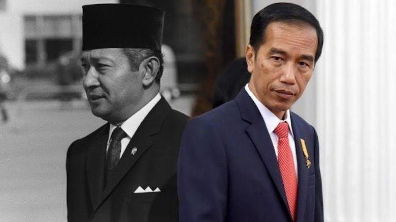Melawan Soeharto dan Melawan Jokowi