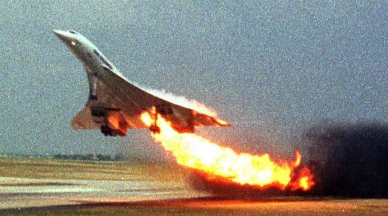 Concorde, Keteledoran Mengakhiri Kedigjayaan