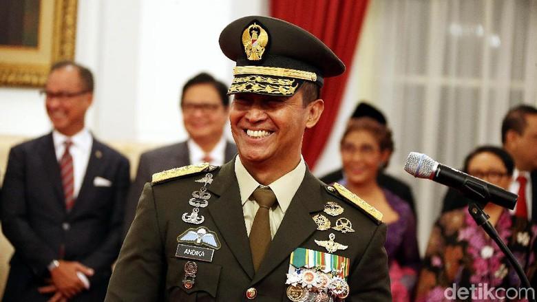 Sedikit tentang KSAD yang Baru, Letjen TNI Andika Perkasa
