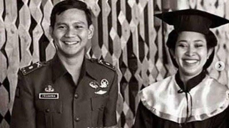Prabowo, Ayahnya dan (Mantan) Istrinya