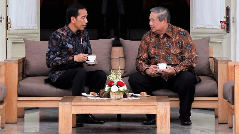 Jarak Terpisah antara Jokowi dan SBY