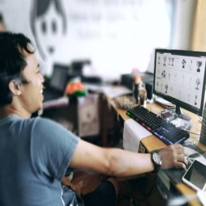 Era Digital, Seniman Ahmad Hady Surya Siap Hadirkan Karya Unik dan Langka