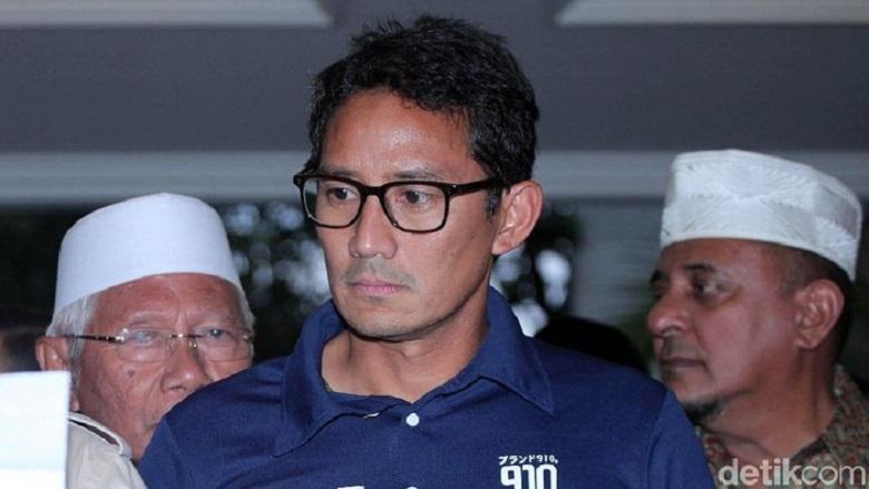 Jika Kalah, Sandiaga Sebaiknya Bergabung di Kabinet Jokowi-Ma'ruf Amin