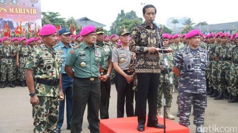Debat ke-4 Capres, Jokowi Sang Panglima Tertinggi TNI