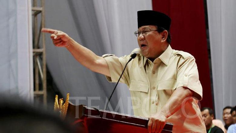 Prabowo Marah kepada Media? Tidak Aneh, 4 Tahun Lalu juga Begitu!