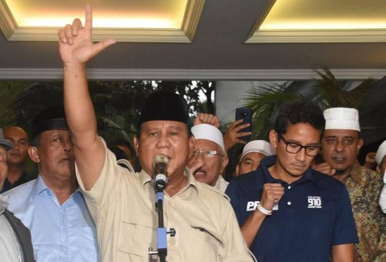 Jangan Anggap Sepele Deklarasi Kemenangan dan Sujud Syukurnya Prabowo!