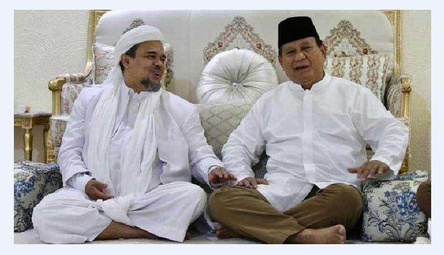 Ada Peran Prabowo Saat Pemulangan HRS?