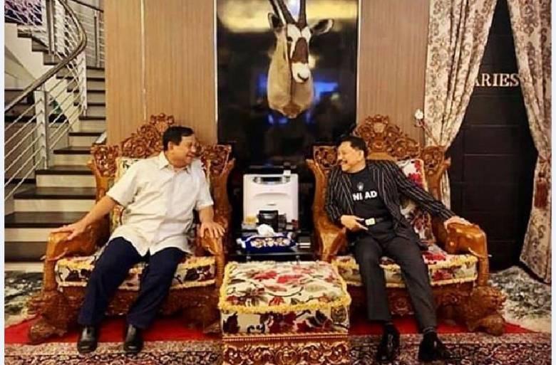 Akhir Manuver Pilpres, Prabowo Bertemu SBY?