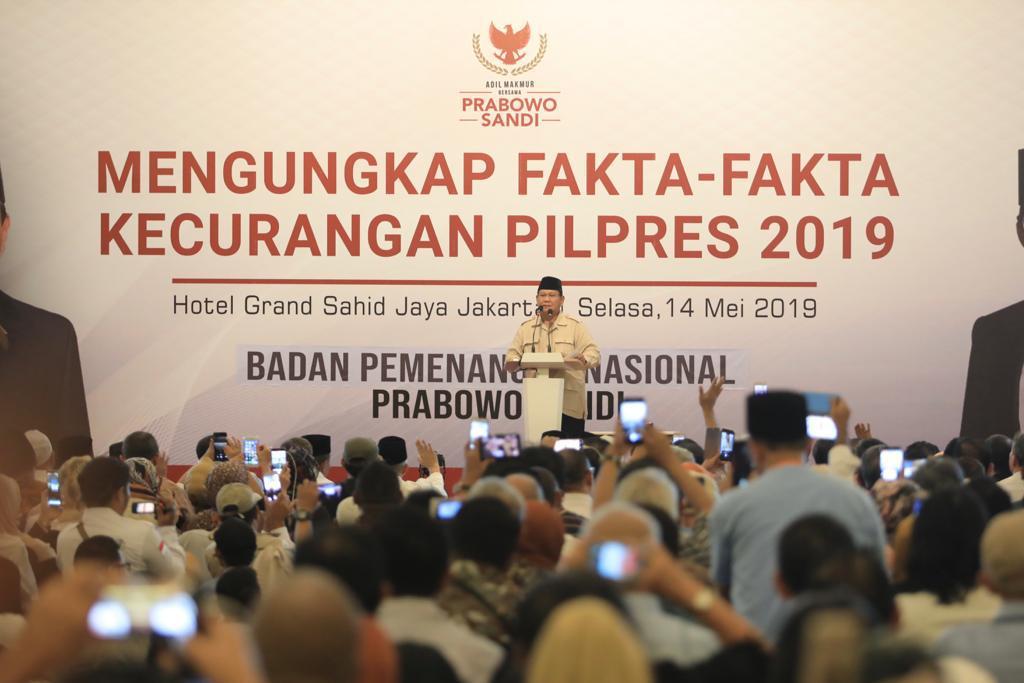 """""""Wasiat"""" Prabowo, Menuju Kemenangan Rakyat!"""