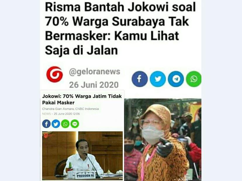 Ada Apa dengan Risma? Berani Bantah Khofifah hingga Jokowi!