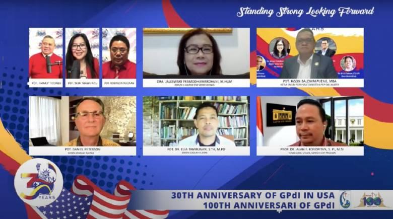 Webinar GPdI Sedunia, Semua Serba Indonesia
