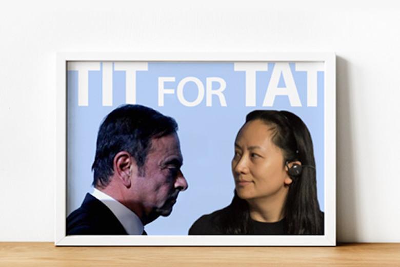 """""""Tit-for-Tat"""" di Bidang Hukum, Kasus Nissan dan Huawei"""