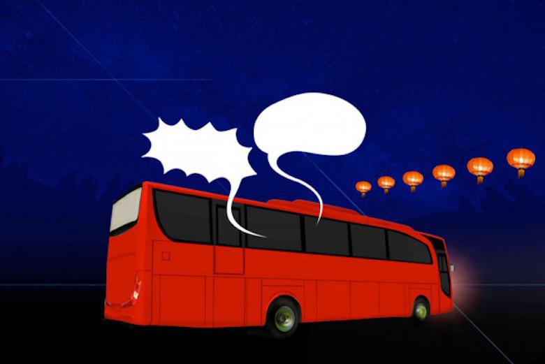 Debat Capres di Dalam Bus