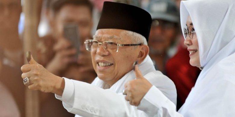 Posisi Ma'ruf Amin di Dua Bank, Apakah Masalah Buat BPN?