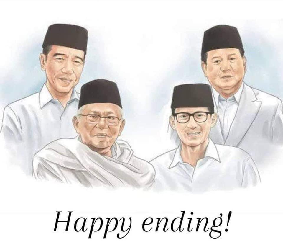 Presiden Jokowi dan Politik Merangkul