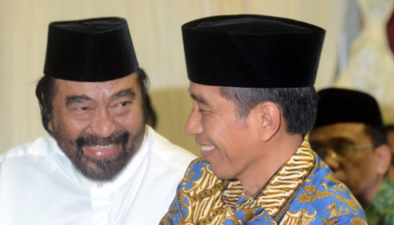 Apa yang Dilakukan Surya Paloh Meneladani Cara Presiden Jokowi