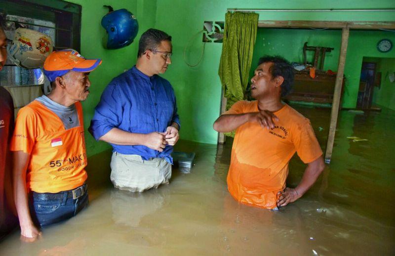 Anies Jengah Kerap Dibandingkan dengan Ahok Soal Banjir Jakarta