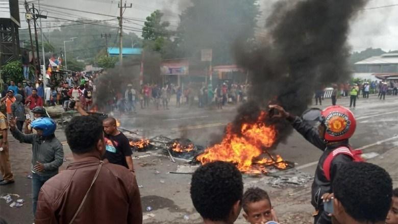 Ada FPI dalam Kerusuhan Manokwari