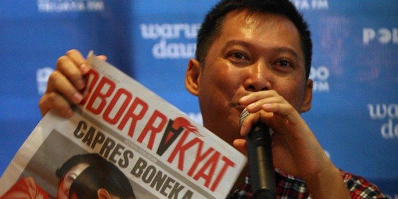 "Boss ""Obor Rakyat"" Harus Menginap Kembali di LP Cipinang"