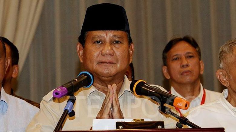 Prabowo Melanggar Komitmennya Sendiri
