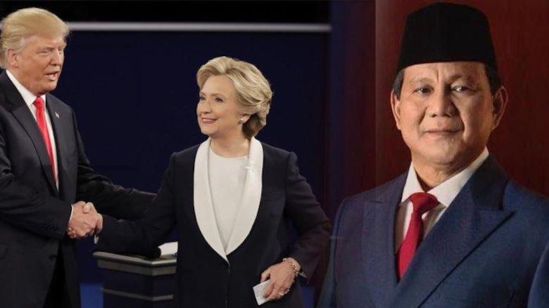 Robohnya Koalisi Kami, Lain Prabowo Lain Hillary