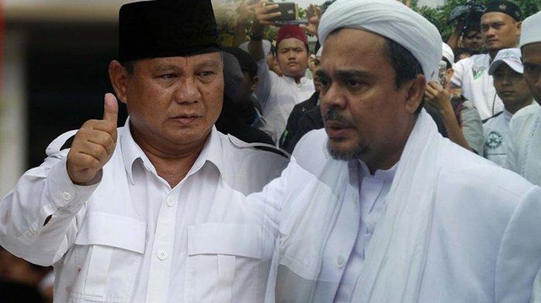 Prabowo dalam Bayangan Riziek Shihab