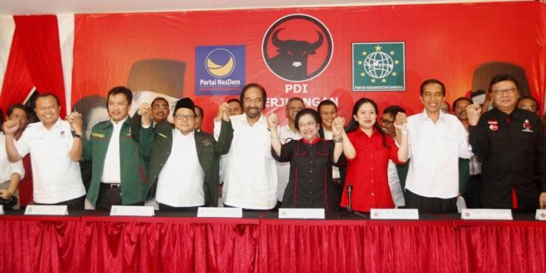 Tibalah Saatnya Presiden Jokowi Bagi Bagi Kue Kekuasaan