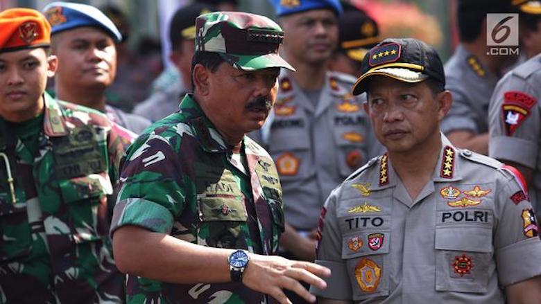 Hati-hati Upaya Adu Domba TNI-Polri lewat Pidato Politik!