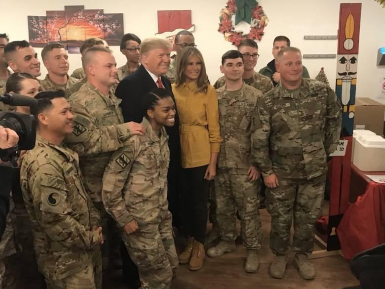 Diam-diam Masuk Irak,  Trump  Langgar Kedaulatan Negara Lain