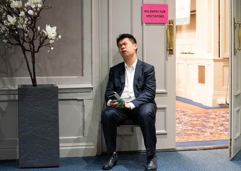Sempat Terpukul, Wang Hao Akhirnya Lolos ke Turnamen Kandidat