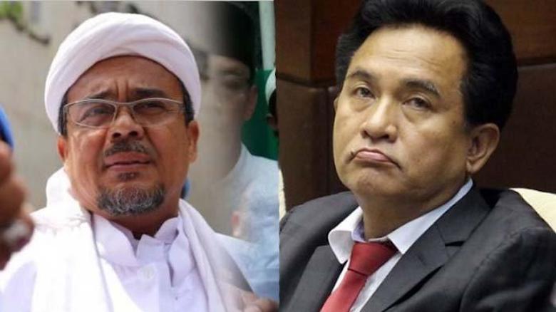 Yusril Ungkap Keraguan Rizieq Shihab terhadap Keislaman Prabowo