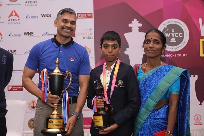 Penerus Legenda India Viswanathan Anand Ini Juara Dunia U18