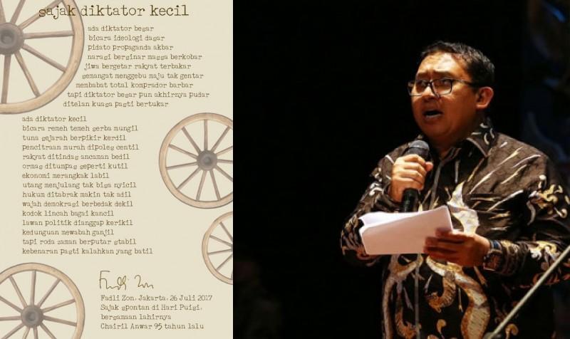 Produktif Bikin Puisi, tapi Minim Prestasi