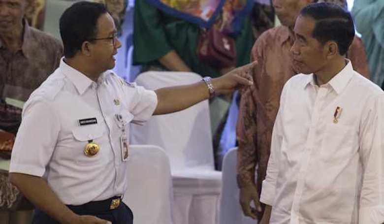 Anies Anak Emas Jokowi?