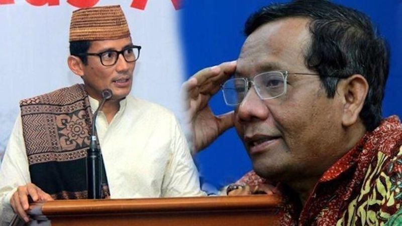 Cara Wudhu Sandiaga Uno dan Tolakan Prabowo Ikut Tes Baca Al-Quran