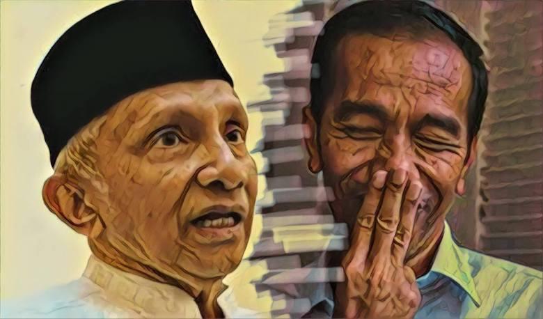 Dan Amien Rais Pun Dicuekin Jokowi