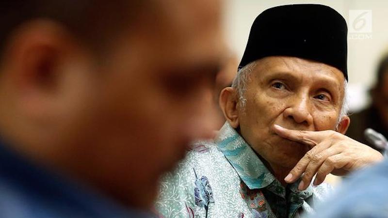Dua Indikasi Penting Rontoknya Pengaruh Amien Rais di PAN dan Muhammadiyah
