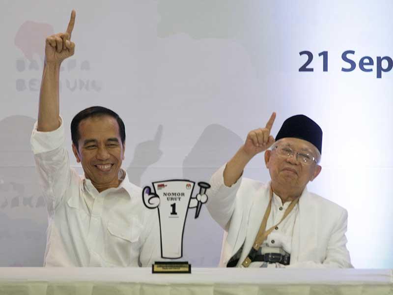 Jokowi-Amin Juara!