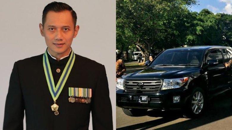 Plat Nomor B 2024 AHY Masuk Istana, Cerminan Politik Dua Kaki?