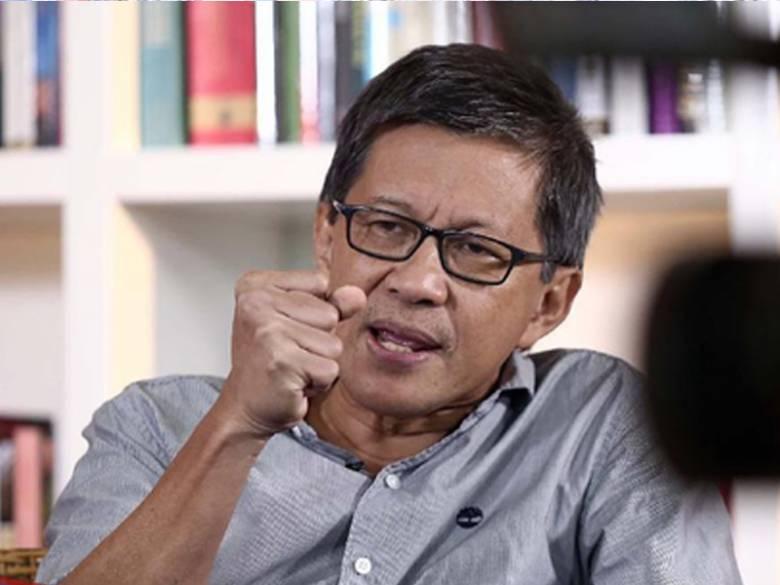 Rocky Gerung Tak Sesat Logika, Legitimasi Jokowi Memang Ada pada Prabowo