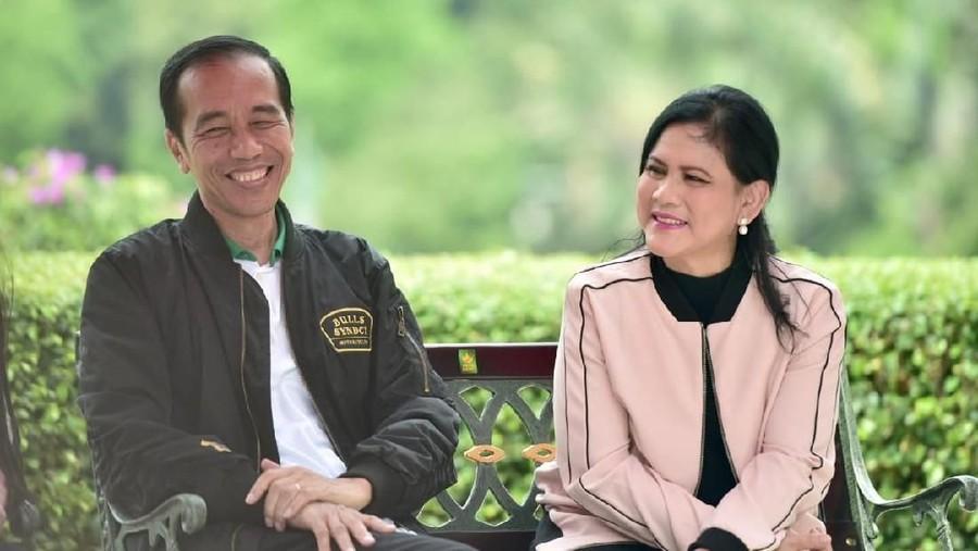 """Iriana, Sang Ibu Negara Menjadikan Jokowi Bak """"Elang Rajawali"""""""