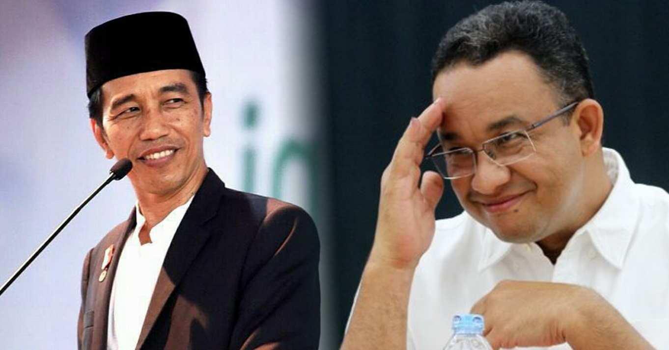 Hubungan Baik Jangka Panjang Jokowi dan Jangka Pendek Anies