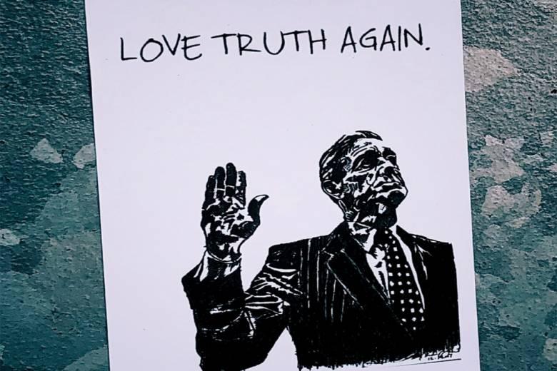 """Kandidat Presiden dan Teknik """"Semburan Kebohongan"""""""