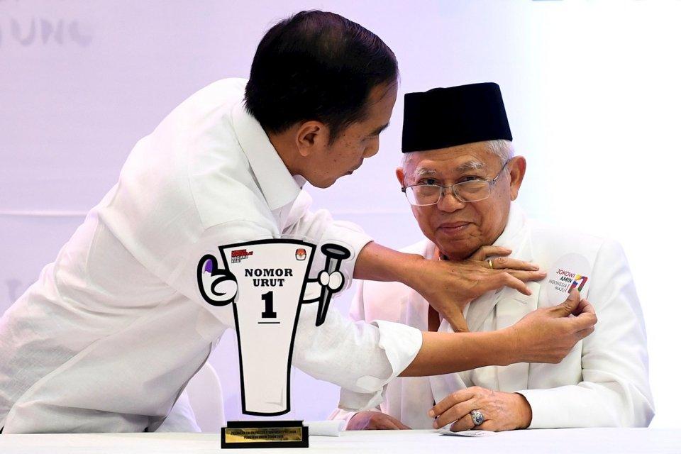 Intervensi Partai dalam Pembentukan Kabinet Jokowi-Ma'ruf