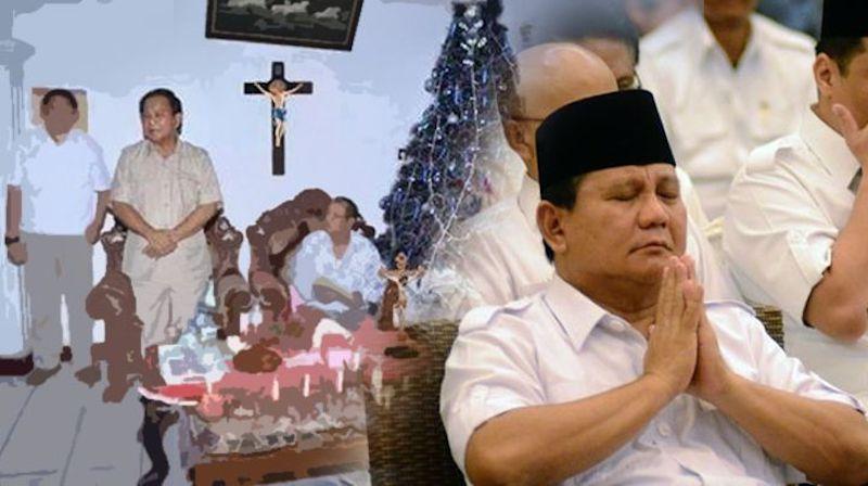 Masalahnya Dimana Kalau Prabowo Ikut Merayakan Natal?