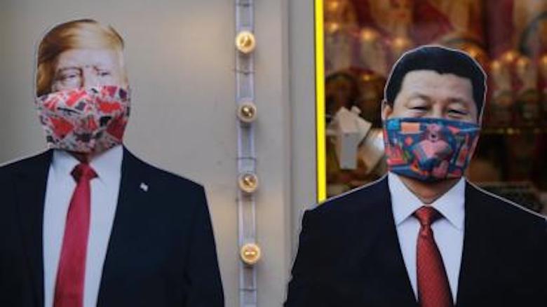 China-AS Adu Mulut di Tengah Badai