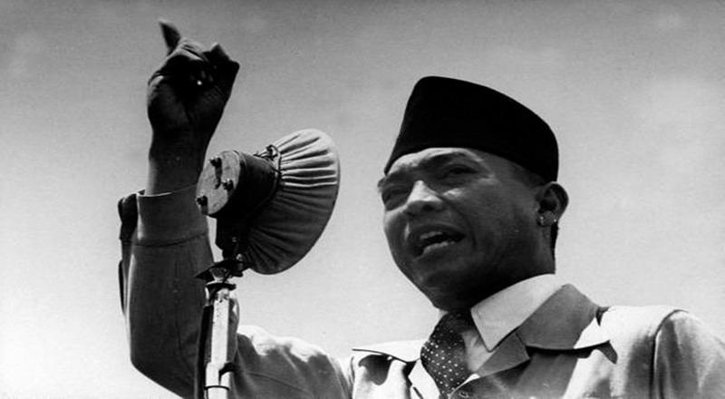 Soekarno dan Ahmad Husein